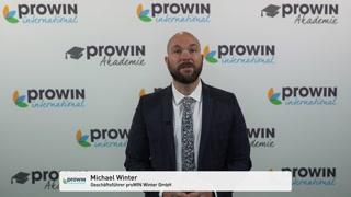 Ansprache Michael Winter - Ihr Mehrwertsteuervorteil für den guten Zweck - Aktueller Stand - KW40