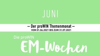 Die proWIN EM-Wochen - Calli drückt Dir die Daumen