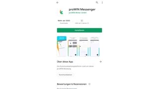 Anleitung zum proWIN Messenger
