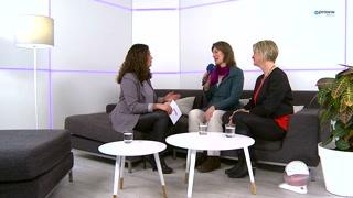 Talk mit Susanne Götze und Christa Sellhorn