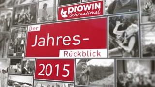 proWIN Jahresrückblick 2015