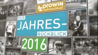 proWIN Jahresrückblick 2016