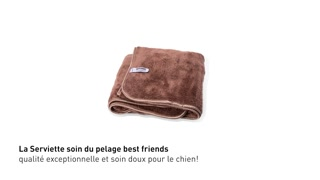 Serviette soin du pelage best friends