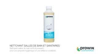 NETTOYANT SALLES DE BAIN ET SANITAIRES